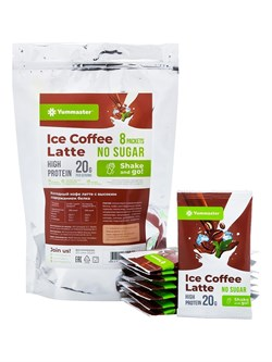 Протеиновый айс кофе без сахара, 240 г (8 порций по 30г) - фото 10529