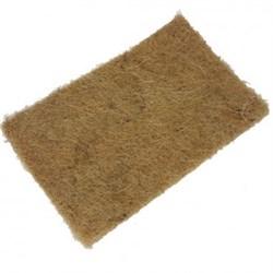 Джутовый коврик для выращивания микрозелени 16*9см 5 штук - фото 11885