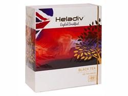Чай черный HELADIV ENGLISH BREAKFAST, 100 пакетиков - фото 5621