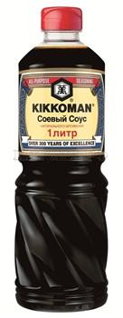 Соевый соус KIKKOMAN натурального брожения, 1л(без сахара) - фото 5629