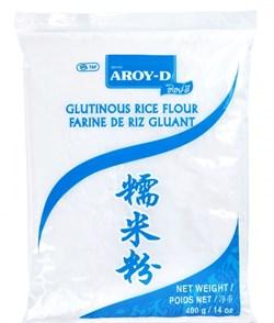 Клейкая рисовая мука Aroy-D, 400 гр - фото 6102