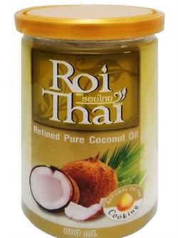 "Кокосовое масло рафинированное ""Roi Thai"" 600 мл (Тайланд) - фото 8823"