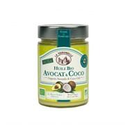 Смесь нерафинированных органических масел кокоса и авокадо, 314мл