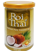 """Кокосовое масло рафинированное """"Roi Thai"""" 600 мл (Тайланд)"""