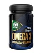 Омега 3 35% с экстрактом ламинарии и витамином Е, капсулы 120 шт