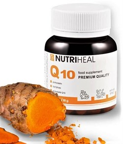Q-10 с куркумой и перцем, 60 таблеток - фото 10700