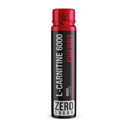 L-carnitine 6000 Shot Вишня, 1 шот, 110 мл - фото 11026