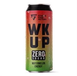 Тонизирующий безалкогольный напиток WK UP Watermelon, 500 мл - фото 11040
