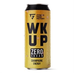 Тонизирующий безалкогольный напиток WK UP Champagne, 500 мл - фото 11042