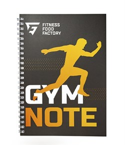Фитнес-дневник Fitness Food Factory, Желтый - фото 11112