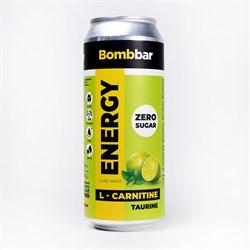 Энергетический напиток Bombbar Лайм - Мята, 500мл - фото 11179