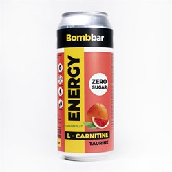Энергетический напиток Bombbar Грейпфрут, 500мл - фото 11180