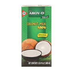 Кокосовое молоко Aroy-D 60% 1000 мл - фото 5084