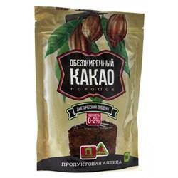 Какао Порошок Обезжиренный 0-2% PREMIUM, 150г - фото 7718