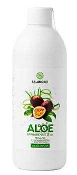 Сок алоэ с маракуйей и мятой - Aloe barbadensis gel, 500 мл - фото 8847