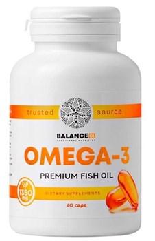 Омега 3 - Omega 3 Balance, 60 капсул - фото 8852