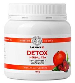 Гранатовый чай Детокс - Detox Herbal Tea, 120г - фото 8863