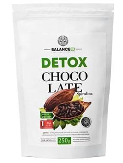 Коктейль Детокс спирулина с шоколадом - Coctail Detox,  250г - фото 8866
