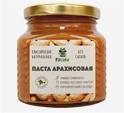 Паста арахисовая классическая FitCake, 250г - фото 9061
