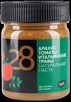 Арахисовая паста с томатами и итальянскими травами Tatis, 200 г - фото 9076