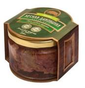 Лесная Диковинка Мясо кабана тушеное с черным перцем, 200 г стекло