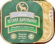 Паштет Лесная Диковинка из мяса лося с тыквенными семечками 100 г