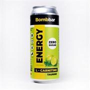 Энергетический напиток Bombbar Лайм - Мята, 500мл