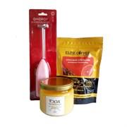 Набор для бронекофе №4: масло ГХИ 230мл, кофе капсулы Красный апельсин, капучинатор