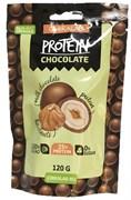 Драже в молочном шоколаде Фундук в шоколаде с протеином 120г