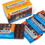 Тёмный шоколад без сахара  с фундуком Chikalab, 100г