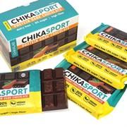 Тёмный шоколад без сахара с миндалём Chikalab, 100г