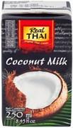 Молоко кокосовое REAL THAI в упаковке тетра-пак 250 мл