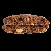 Протеиновое печенье Nuts Фундук-шоколад FitnesShock, 40г