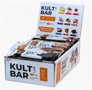 KULTLAB протеиновый батончик Kult Bar коробка 60г х 20 клубника со сливками