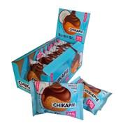 Протеиновое печенье глазированное Chikalab Кокос, 9 штук