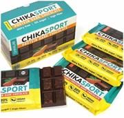 Тёмный шоколад без сахара с миндалём Chikalab, 100г х 4 шт