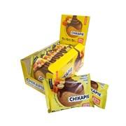 Протеиновое печенье глазированное Chikalab Арахис, 9 штук