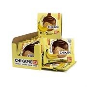 Протеиновое печенье Chikalab в шоколаде без сахара - Банан в шоколаде, 9 штук
