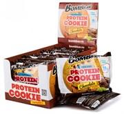 Протеиновое печенье Bombbar ШОКОЛАД + коллаген, 10 штук