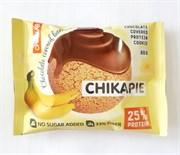 Протеиновое печенье Chikalab в шоколаде без сахара - Банан в шоколаде, 60г