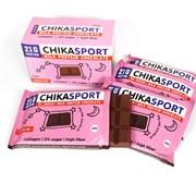 Протеиновый шоколад без сахара Chikalab Молочный шоколад, 4 х 100г