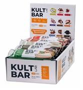 KULTLAB протеиновый батончик Kult Bar коробка 60г х 20 печенье и соленый арахис
