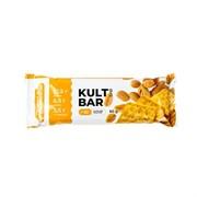 KULTLAB протеиновый батончик Kult Bar, 60 г: печенье и соленый арахис