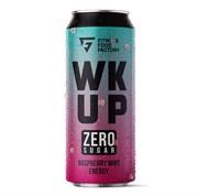 Тонизирующий безалкогольный напиток WK UP Raspberry Mint, 3 х 500 мл