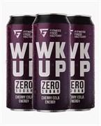 Тонизирующий безалкогольный напиток WK UP Cherry Cola, 3 х 500мл