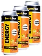 Энергетический напиток Bombbar Апельсин, 3 х 500мл