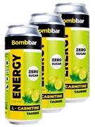 Энергетический напиток Bombbar Лайм - Мята, 3 х 500мл