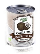 Organic Кокосовые сливки Ahya (жирн. 20-22%), 400мл