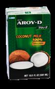 Кокосовое молоко Aroy-D, мякоть кокоса 60%, 500 мл