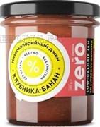 Джем низкокалорийный ZERO Экзотик (клубника-банан), 270 г